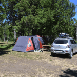 Carpa Baqueano Bariloche Argentina Camping Baqueanos Rio Negro
