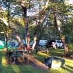 Carpas Los Rapidos Bariloche Argentina Camping Rio Negro