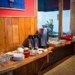 Desayuno Hostel Marcopolo Bariloche Argentina Rio Negro