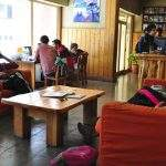 Recepcion Hostel Marcopolo Bariloche Argentina Rio Negro
