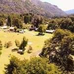 Vistas La Querencia Bariloche Argentina Camping Rio Negro
